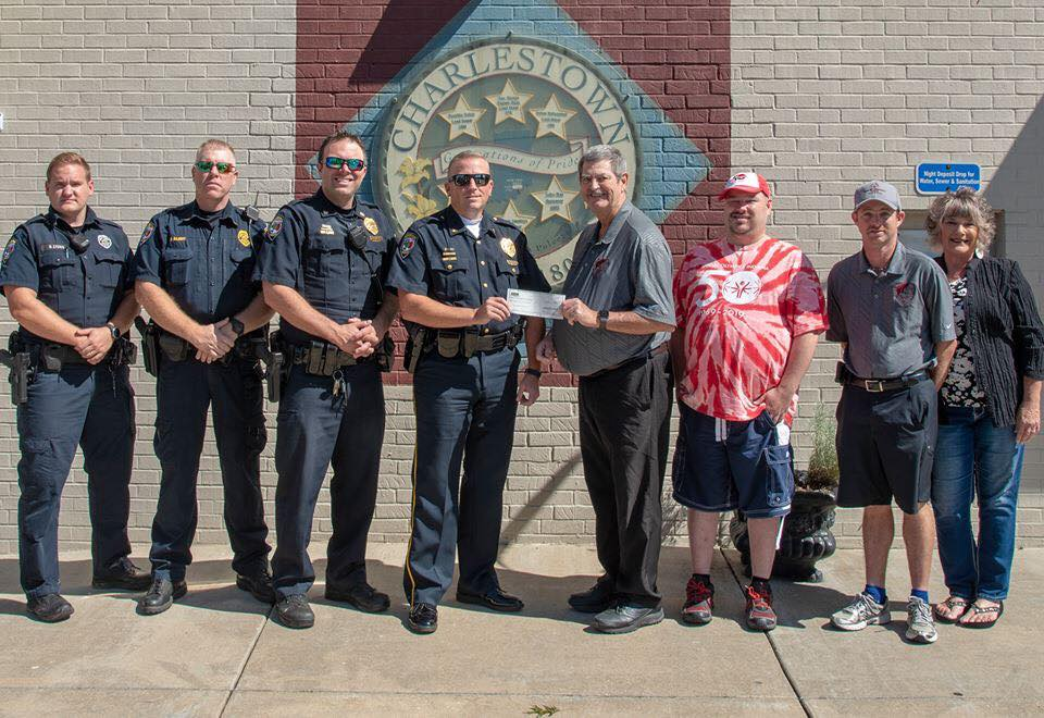 Officer Fund Raising Donation to Clark County Special Olympics